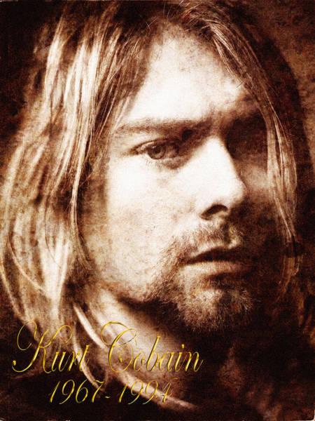 Photograph - Kurt Cobain by Andrew Fare