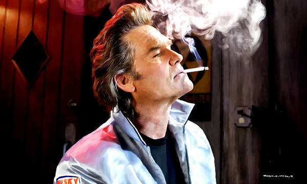 Digital Art - Kurt Russell @ Death Proof by Gabriel T Toro