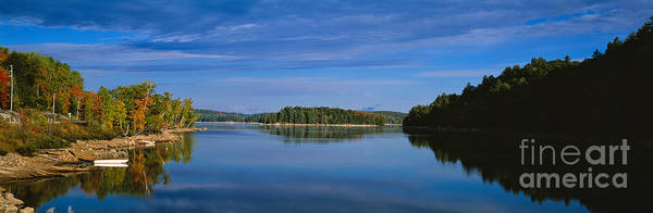 Photograph - Kushog Lake In Haliburton In Ontario by Les Palenik