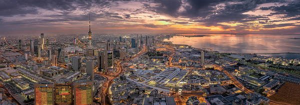 Wall Art - Photograph - Kuwait City by Ahmad Al Saffar