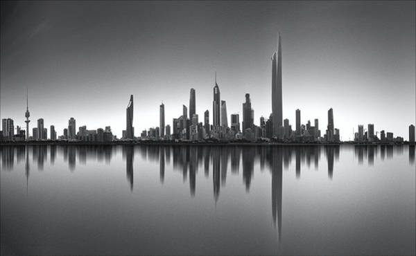 Finance Photograph - Kuwait Skyline by Ahmed Thabet