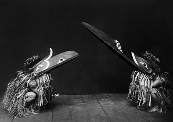 Native America Photograph - Kwakiutl Indians Circa 1914 by Aged Pixel
