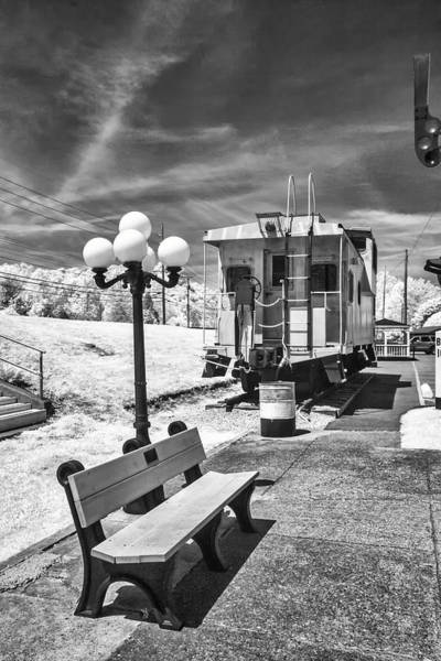 Photograph - Ky Caboose by Mary Almond