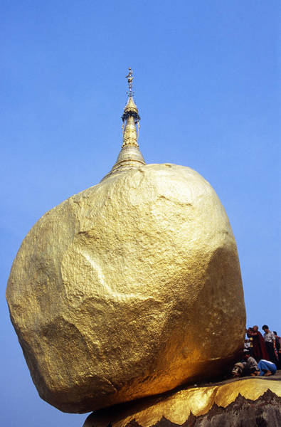 Wall Art - Photograph - Kyaiktiyo Pagoda, Myanmar by Alison Wright