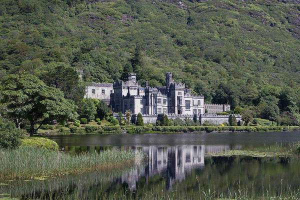 Kylemore Abbey Reflection Art Print