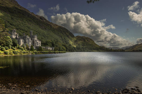 Wall Art - Photograph - Kylemore Abbey--- Ireland by Tim Bryan