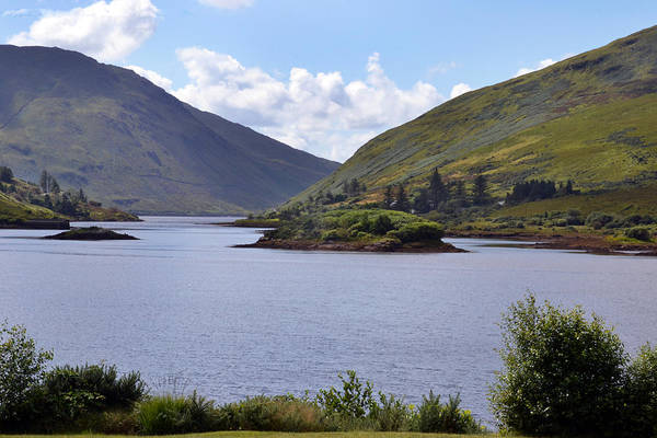Wall Art - Photograph - Kylemore Loch by Terence Davis
