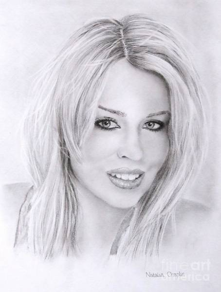 Follow Me Painting - Kylie Minogue by Natalia Chaplin