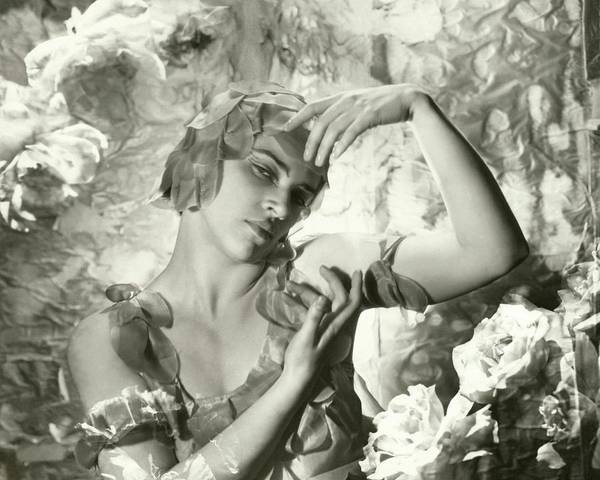 Wall Art - Photograph - Kyra Nijinsky In Le Spectre De La Rose by Cecil Beaton