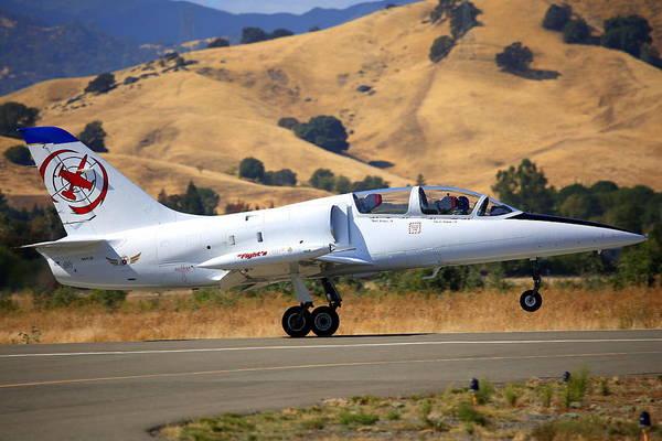 Photograph - L-39c Albatross Rotating N441jb by John King