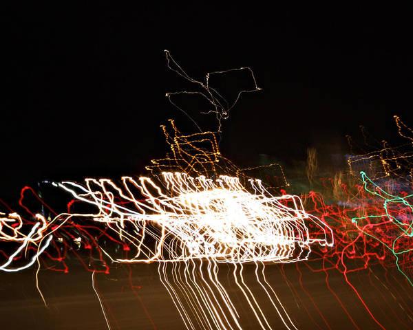 Photograph - La-405 Frenzy by Randy Grosse