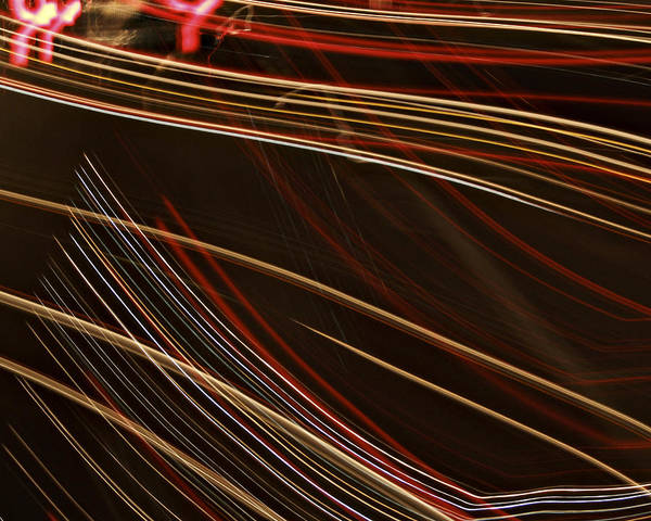 Photograph - La-405 Lines by Randy Grosse