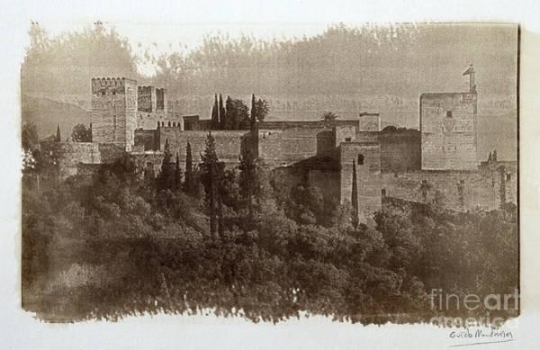 La Alhambra. Calotipia Art Print