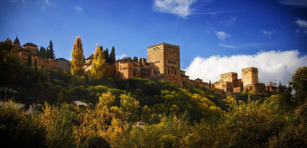 Photograph - La Alhambra From The Palace Of Cordoba by Levin Rodriguez