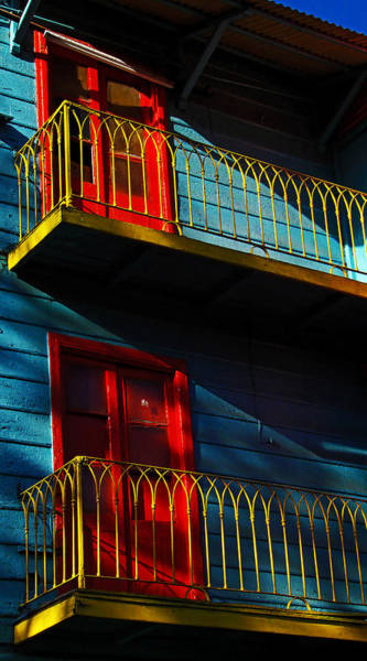 Photograph - La Boca Painted Building by Theo OConnor