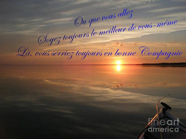 Photograph - la Bonne Compagnie by Marianne NANA Betts