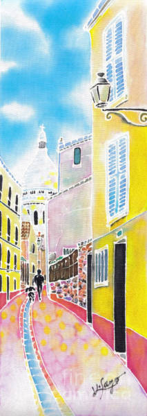 Painting - La Butte Montmartre by Hisayo Ohta