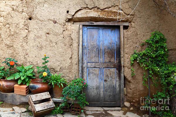 Mud House Photograph - La Casa Vieja 1 by James Brunker
