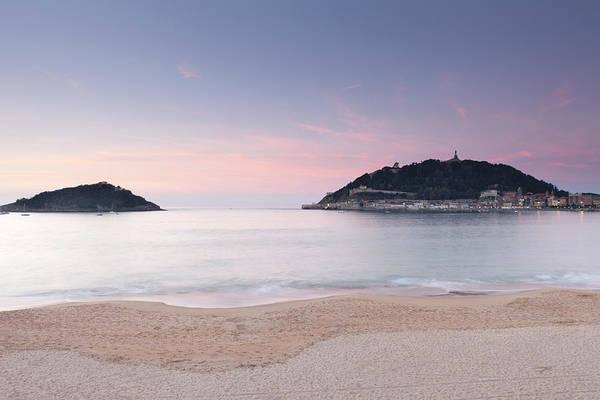 San Sebastian Photograph - La Concha San Sebastian by Marcaux