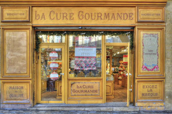 Photograph - La Cure Gourmande by Jean Gill