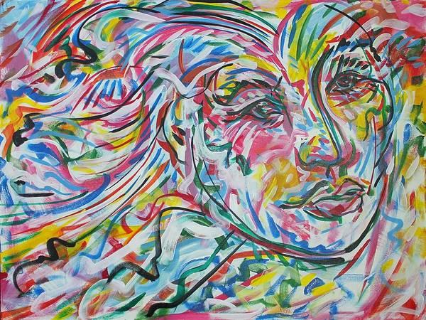 Ranchera Wall Art - Painting - La Dama Longoria by Jimmy Longoria