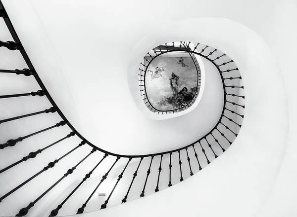 Museum Photograph - La Escalera by Jose Antonio Trivi?o