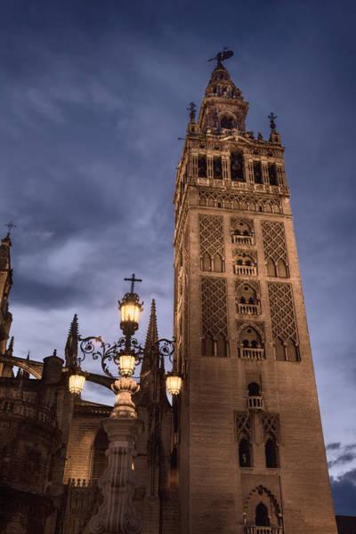 Minarets Photograph - La Giralda Night by Joan Carroll