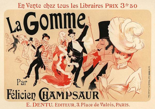 Belle Epoque Photograph - La Gomme by Gianfranco Weiss