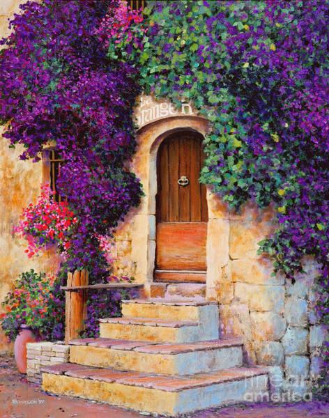 Provence Landscape Wall Art - Painting - La Grange by Michael Swanson