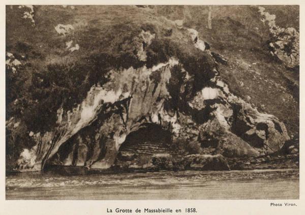 Bernadette Photograph - La Grotte De Massabieille, Where by Mary Evans Picture Library