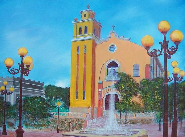Painting - La Iglesia by Tony Rodriguez