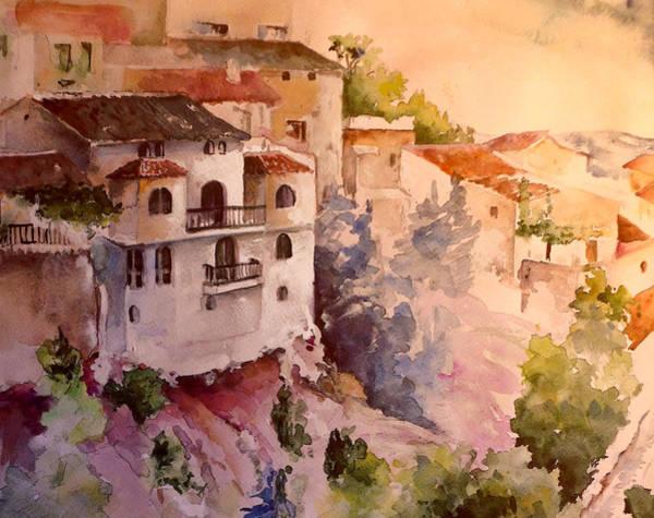 Wall Art - Painting - La Iruela 03 by Miki De Goodaboom