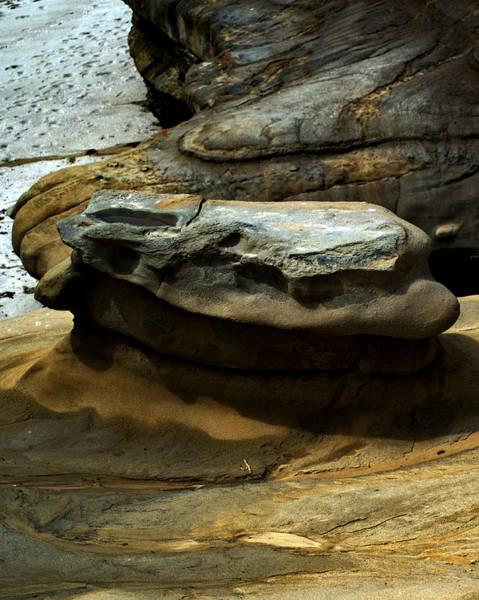 Digital Art - La Jolla Cliffs by Visual Artist Frank Bonilla