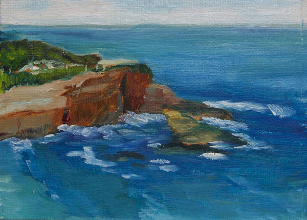 Painting - La Jolla Cove 023 by Jeremy McKay