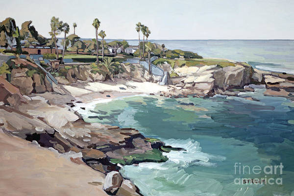 Wall Art - Painting - The Cove by Paul Strahm