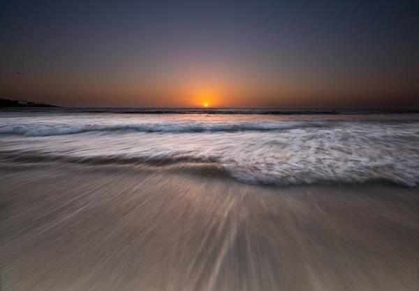 Scripps Pier Photograph - La Jolla Shores Slow Motion by Lee Bertrand