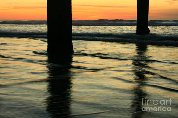 Photograph - La Jolla Shores Sunset by John F Tsumas