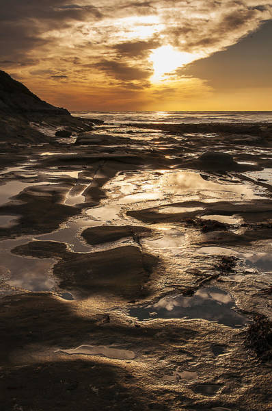 Photograph - La Jolla Sunset 3 by Lee Kirchhevel