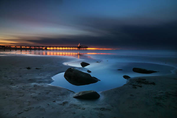 Wall Art - Photograph - La Jolla Sunset 7 by Larry Marshall