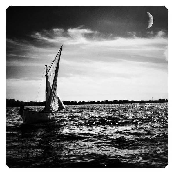 Photograph - La Lune Et Le Lac by Natasha Marco