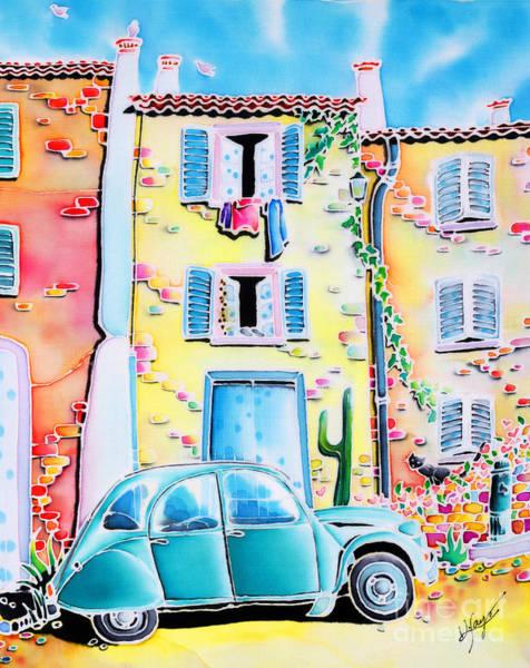 Painting - La Maison De Copain by Hisayo Ohta