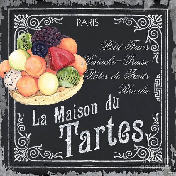Wall Art - Painting - La Maison Du Tartes by Debbie DeWitt