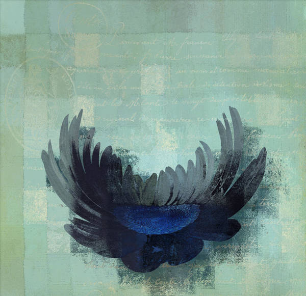 Aqua Digital Art - La Marguerite - 046143067-c02g by Variance Collections