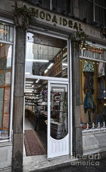 Photograph - La Moda Ideal Fabrics Store by RicardMN Photography