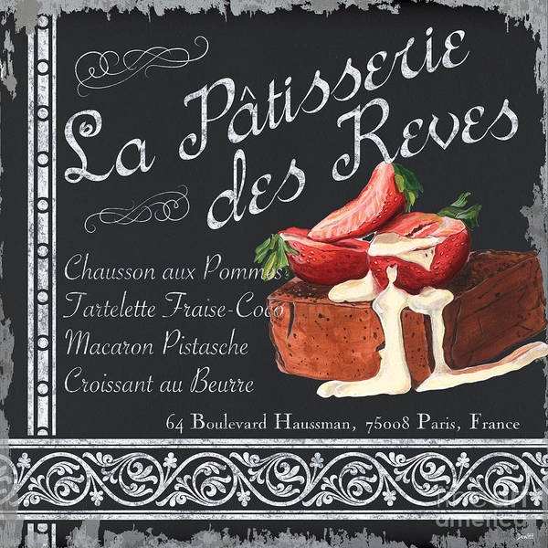 Wall Art - Painting - La Patisserie by Debbie DeWitt