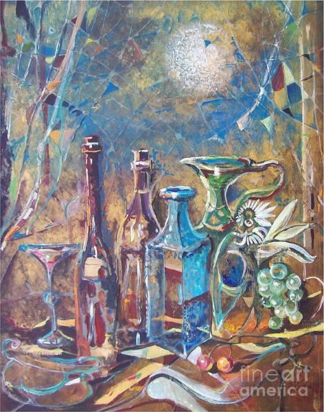 Painting - La Pause by Sinisa Saratlic