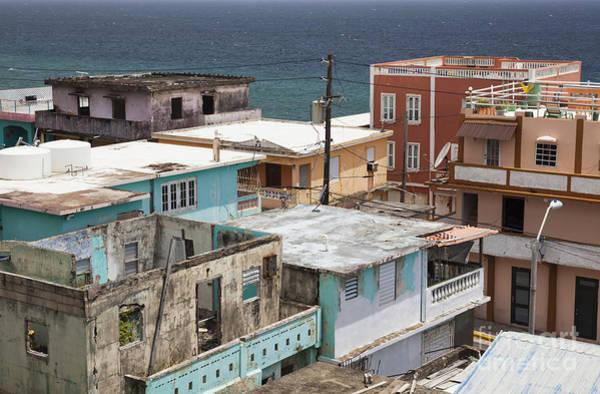Photograph - La Perla District In Old San Juan Puerto Rico by Bryan Mullennix