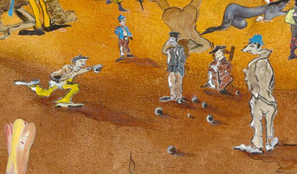 Petanque Wall Art - Digital Art - La Petanque by Bernard RENOT