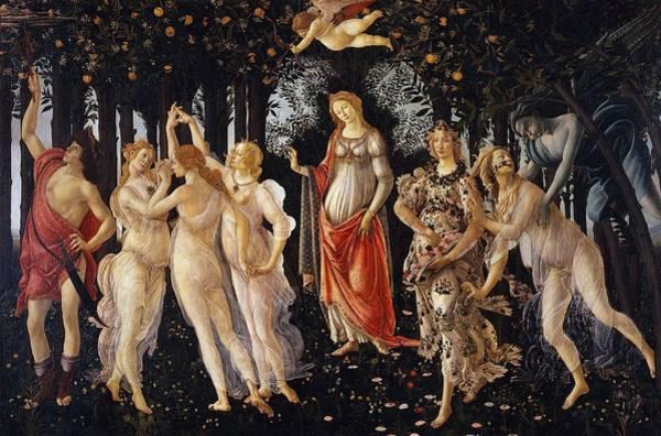 Primavera Painting - La Primavera - Spring by Sandro Botticelli
