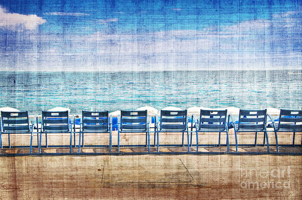 French Riviera Photograph - La Promenade Des Anglais by Delphimages Photo Creations